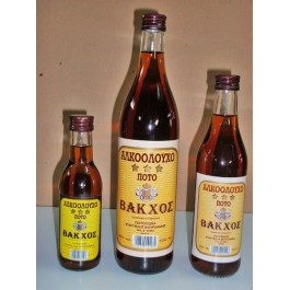 Κονιακ - Αλκοολούχο Ποτό Βάκχος 30° / 200ml Κονιάκ Βάκχος